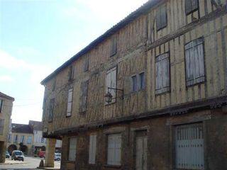 Bastide houga angle nord de Long