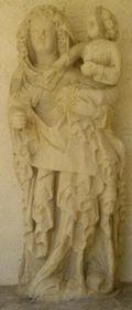 Statue profil droit rog