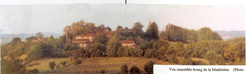 Bourg de La Madeleine(Ladevèze & son Histoire)_001