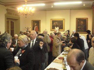 11novembre 2009 réception mairie