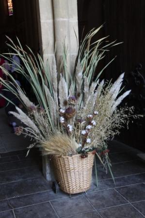 Bouquet en entrée compressé