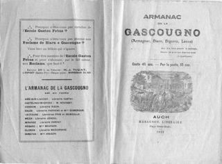 Armanac 1939 pages intérieures