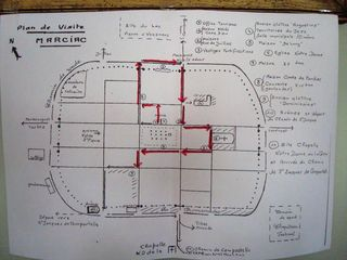 Plan de la visite