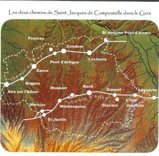 Les deux chemins de Saint Jacques de Compostelle dans le Gers (ASJCG)_001 comp