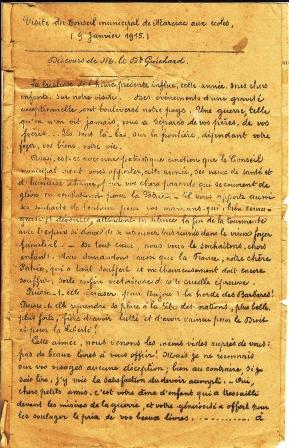 1915 discours aux écoles p1 comp