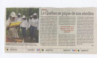 Québec abeilles A et P 32