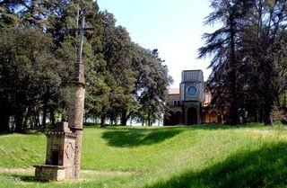 Autel colonne chapelle compr