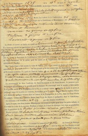 Doc de visite pastorale p 1 1875 comp