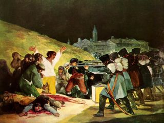 Napoleon-bonaparte-dos-mayo-goya