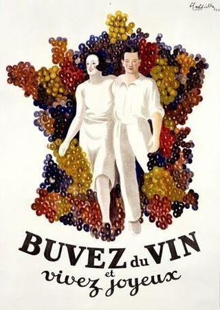 Le vin vivre joyeux