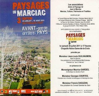 Invitation PIM 3e 30 juillet 2011 17h chapelle NDC Marciac comp