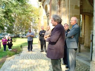 Vernissage discours bruno maire monseigneur Daguzan Maigné Courtès comp