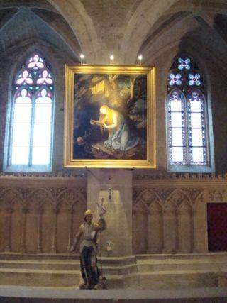 Ste Jeanne d'Arc et tableau de Marie Madeleine comp
