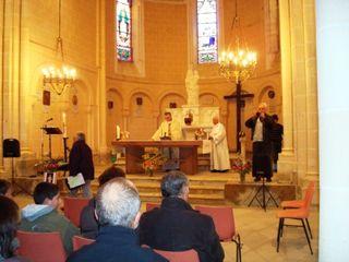11 messe 1 Mgr Maigné et Pierre Lauzun comp