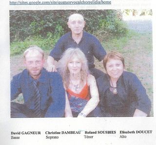Quatuor vocal Chorrelidia rogné