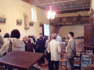 LR église Saint André 19 groupe et maire comp