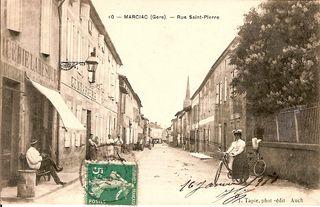 Gendarmerie rue Saint Pierre