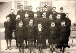 1936 Claude Adrien Tisné 1 haut gauche G Meilhon avant der 2e droite G Toulouse 2e gauche 1er rang Maercadal Saint Vignes Puchuau, Gers Moncassin Dumoulin Lagrabellecomp