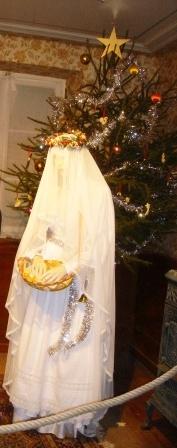 Noël d'antan stube 8 Christkindel Hans Trapp comp rogné