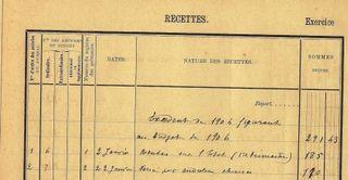 2 Recettes au 5 02 1906 comp