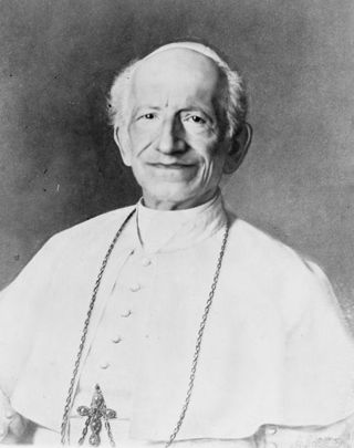 Leon XIII 1810 1903 pape 1878 rerum novarum