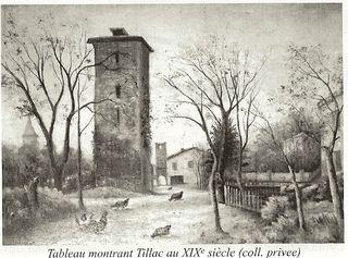 Tillac tableau XIX