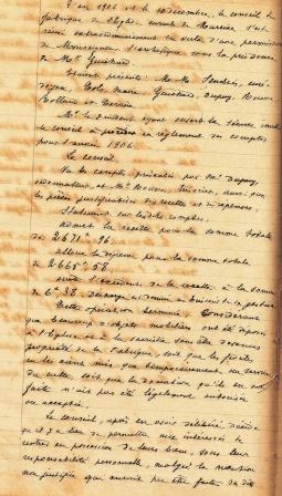 Fabrique NDA dernière délibération 10 12 1905 p 1 comp