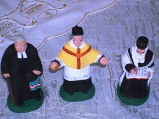 Détail pasteur curé rabbin comp