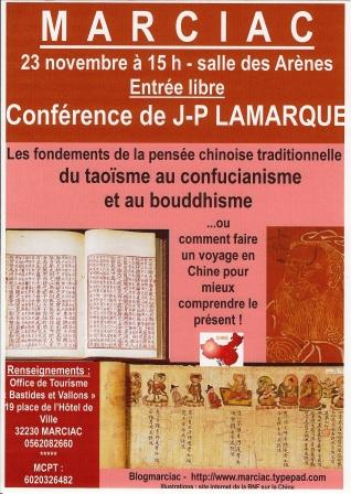 Affiche 23 11 2013 Lamarque Marciac Arènes 15 h comp