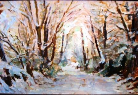 2 oeuvre hiver 1 rogné Autour du voyage de Frantz Schubert hiver 1997 comp