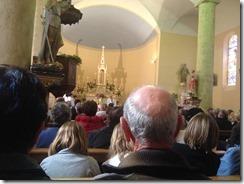 Assistance 0 et choeur évêque et abbé Ch de Lary