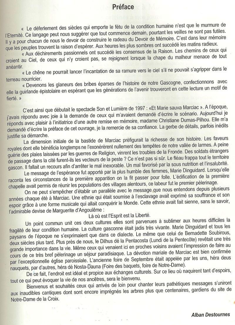 2 préface d'Alaban Destournes 1997