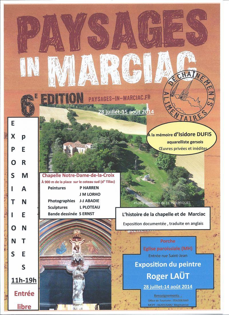 2 affiche MCPT PIM 6e  expos permanentes Chapelle église Marciac corrigée