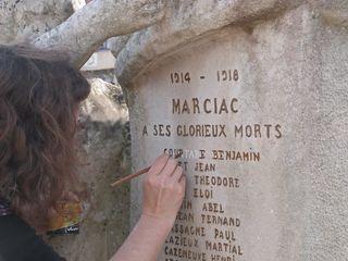 Monument aux morts Marciac 3