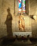 Coeur sacré de Jésus don de Marie Abeilhé 1 09 1877 abside centrale puis absidioe sud