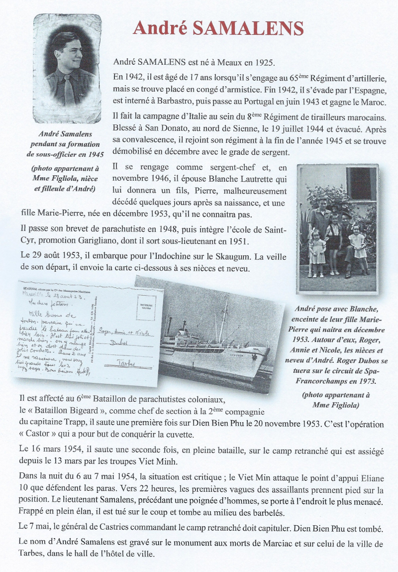 3 Samalens Marciac panneau Maurice S