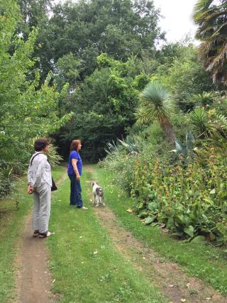 1a Peggy Kluck jardin Cravencères