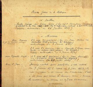 1 RP 1868 et en marge pptes