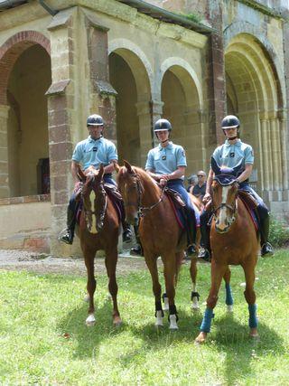Gendarmerie montée 1
