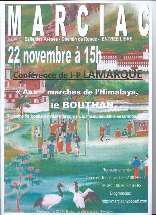 Conférence JP Lamarque 22 11 2014 15h salle des Arènes Marciac v2