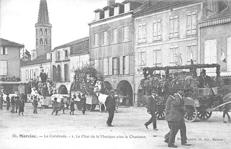 1 cpa Cavalcade 2 vers 1905  MS