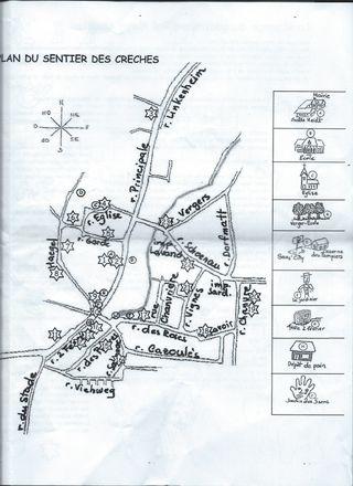 Saasenheim plan circuit des crèches