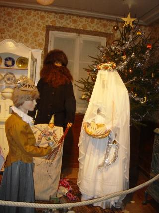 Noël d'antan stube 8 Christkindel Hans Trapp