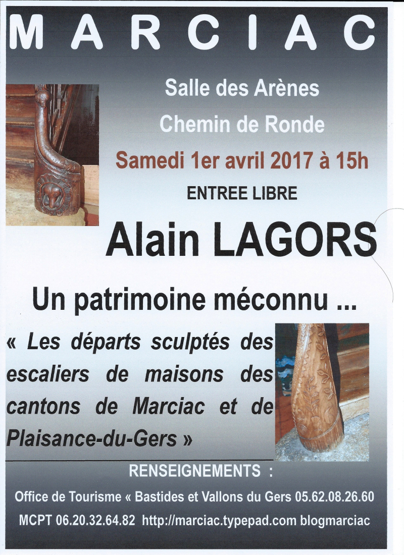 0 MCPT conférence 1 04 2017 Alain LAGORS