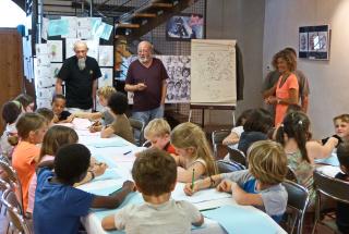 1 salon caricature 2017 école Beaumarchès