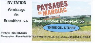 Invitation RECTO PIM 7e Vernissage des expositions chapelle 2 8 2015 16h
