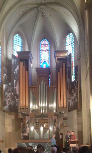 Edith de Grandpré M de Miguel facteur d'orgue bis