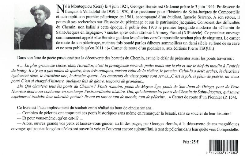3 les ponts du Chemin de St Jacques texte G Bernès 2012 4 presse ICN Orthez