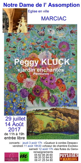 22 Affiche Peggy KLUCK