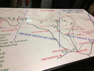 00 carte ligne Maginot nord-Est